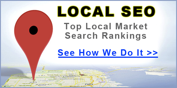 Improve your local market search rankings with Local SEO services from Right On - No Bull Marketing