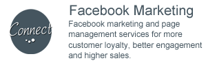 Facebook Marketing - Facebook marketing and page management services for more customer loyalty, better engagement and higher sales.