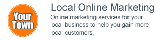 Local Online Marketing - Online marketing services for your local business to help you gain more local customers.