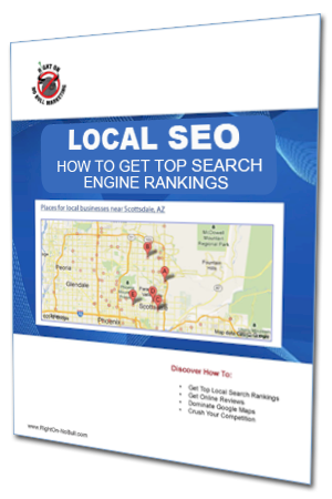 Local SEO eBook from Right On - No Bull Marketing